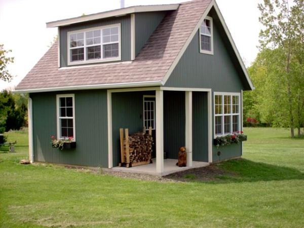 Dormer Loft Cottage By Molecule Tiny Homes: WHITEHORSE II CABIN PLAN